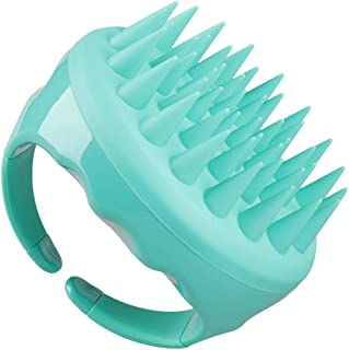 Upgraded Shampoo Brush Hair Scalp Massager Hairbrushes with Easy Handle for mens Girls, Soft Silicone Care brushes Comb Fo...
