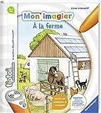 Ravensburger- tiptoi- Livre interactif- Mon imagier à la ferme- A partir de 3 ans- 00 027
