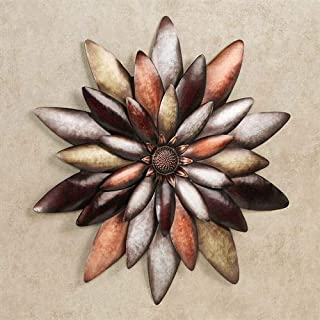 Touch of Class Arris Floral Blossom Wall Art Multi Metallic One Size