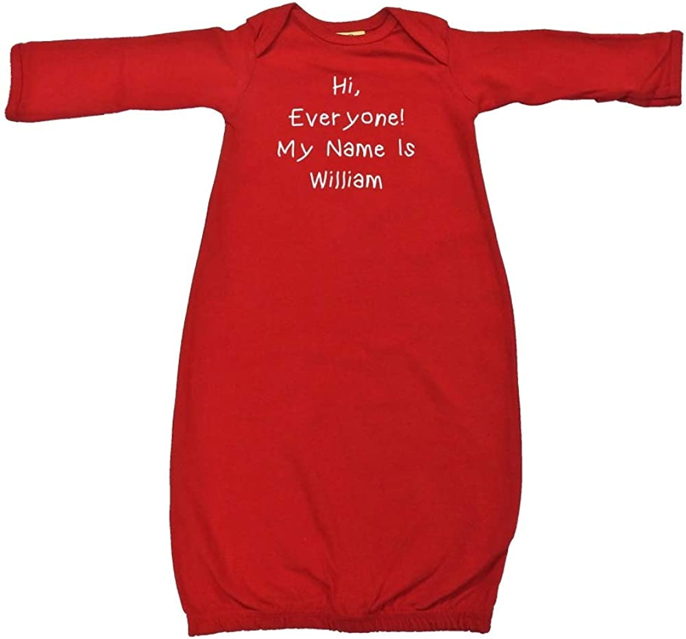 Hi Everyone My Name is Genuine Superior Baby Personalized William - Cotton