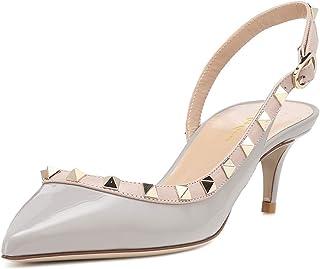 8ee59d5ee5d Amazon.co.uk: Grey - Court Shoes / Women's Shoes: Shoes & Bags