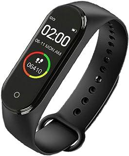Leoboone M4 0.96 pulgadas pantalla a color reloj inteligente banda deportiva monitoreo salud sueño Tracker movimiento impermeable pulsera