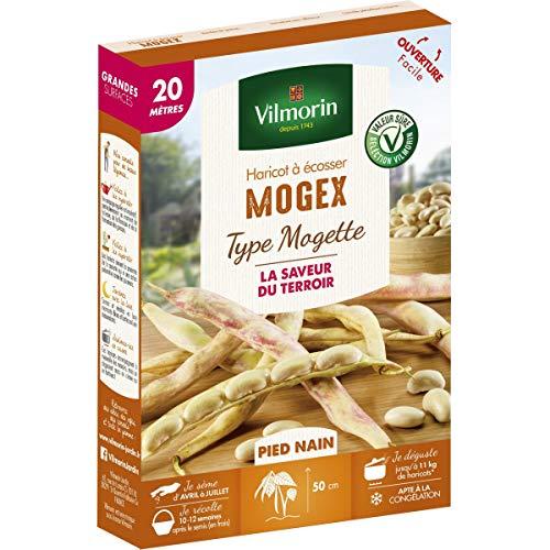 Vilmorin - Haricot à écosser Mogex type Mogette 20 mètres