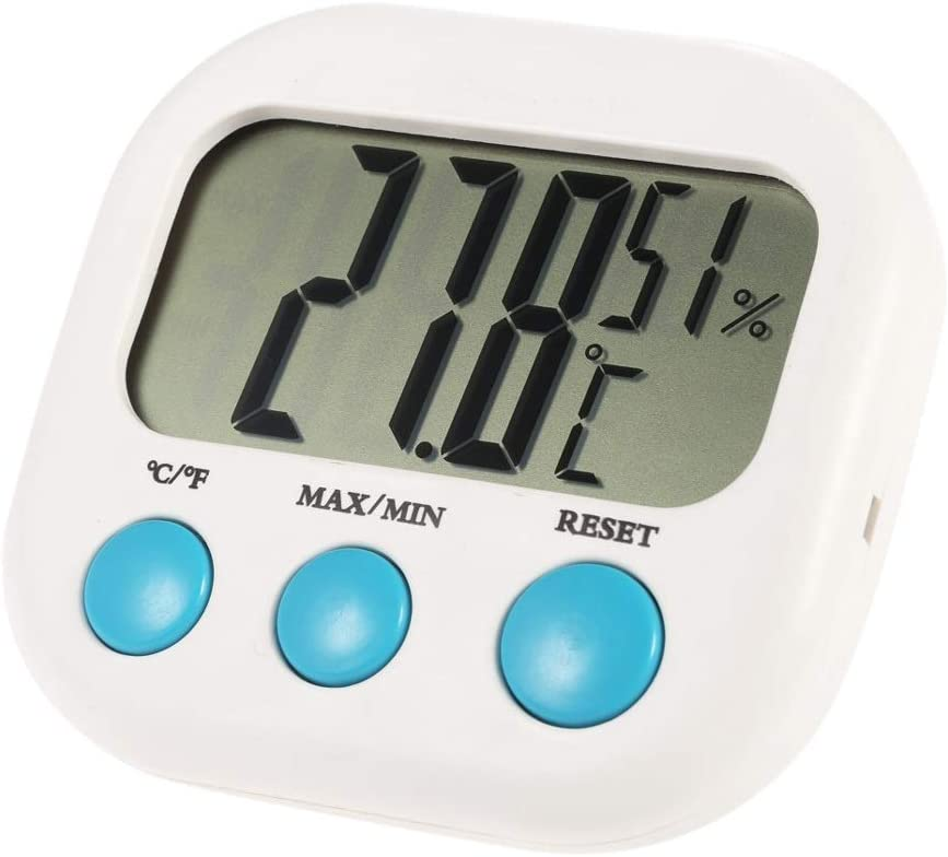 UXZDX CUJUX Oklahoma Animer and price revision City Mall Weather Station LCD Thermometer Hygrometer T Digital