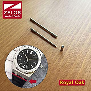 Pukido 25mm watch screw tube for AP royal-oak RO 41mm watch rubber/Leather Strap Belt Band connect link kit parts 15400 26320 tools