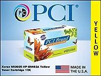 プレミアム互換機Inc。互換トナーカートリッジ交換HP 6r3025-pci (イエロー)