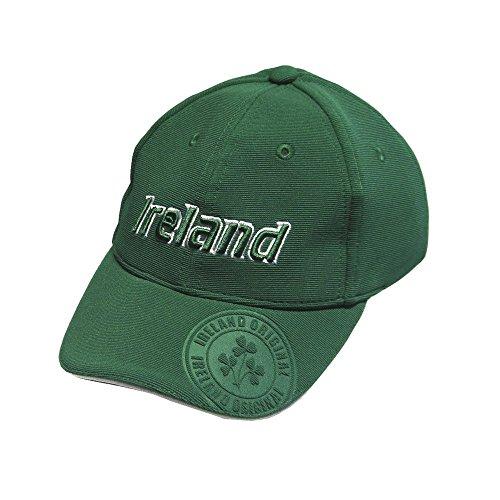Carrolls Irish Gifts Baseball Cap for Kids with Ireland Emblem Badge, Green Colour