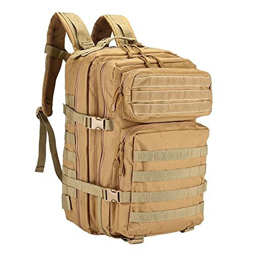 UBORSE Mochila Táctica Militar 40L Paquete de Asalto MOLLE Impermeable Bolsa de Caza Senderismo Acampada y Actividad al Aire Libre