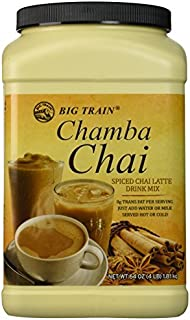Big Train Chamba Chai Spiced Chai Lattei, Two 4lb. Jugs by Chamba Chai Spiced Chai Latte