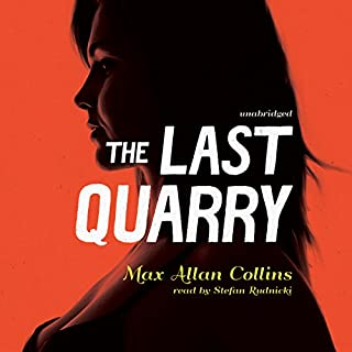 The Last Quarry audiobook cover art