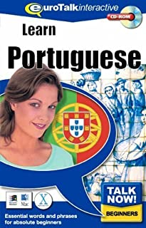 Talk Now! Learn Portuguese. CD-ROM: Essential Words and Phrases for Absolute Beginners by EuroTalk ( 2011 ) CD-ROM
