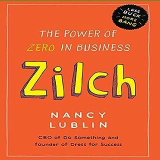 Zilch audiobook cover art