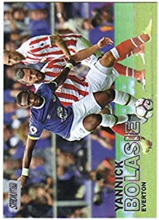 2016-17 Topps Stadium Club EPL Premier League Soccer #42 Yannick Bolasie Everton