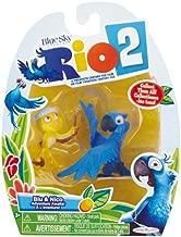 Rio 2 Movie, Blu and Nico Mini Figure 2-Pack