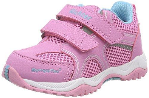 Richter Kinderschuhe Mädchen Future Trekking- & Wanderhalbschuhe, Pink (Candy), 33 EU