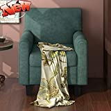 DOONHEXS Stronger & More Durable Accent Chair,Upholstered Armchair with Solid Wood Legs,Mid Century Modern Comfy Linen Fabric Sofa Chairs Furniture for Living Room Reading Room Bedroom Office (Green)