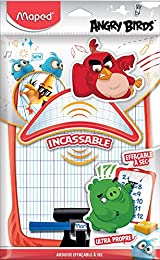 Maped Ardoise Blanche et Quadrillée ANGRY BIRDS In