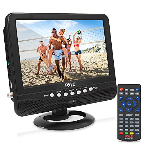 9 Inch Portable Widescreen TV - Smart Rechargeable ...