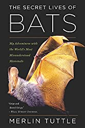 Image: The Secret Lives of Bats: My Adventures with the World's Most Misunderstood Mammals | Paperback: 304 pages | by Merlin Tuttle (Author). Publisher: Houghton Mifflin Harcourt; Reprint edition (October 16, 2018)