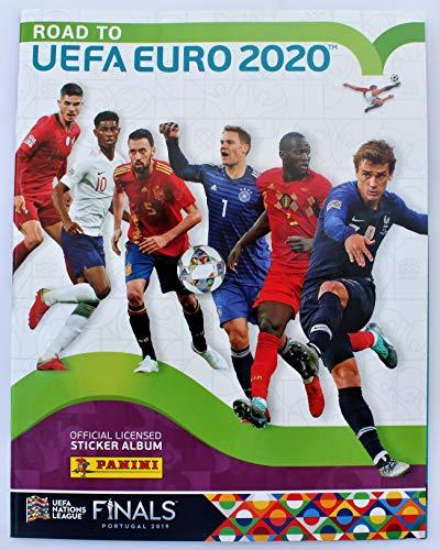 Paul Poga Premium Limited Edition Karte Unbekannt Adrenalyn XL Road to Euro 2020