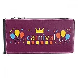 DIYthinker Women's Leather Wallet Card Purse One Size Multicolor One_Size Multicolour