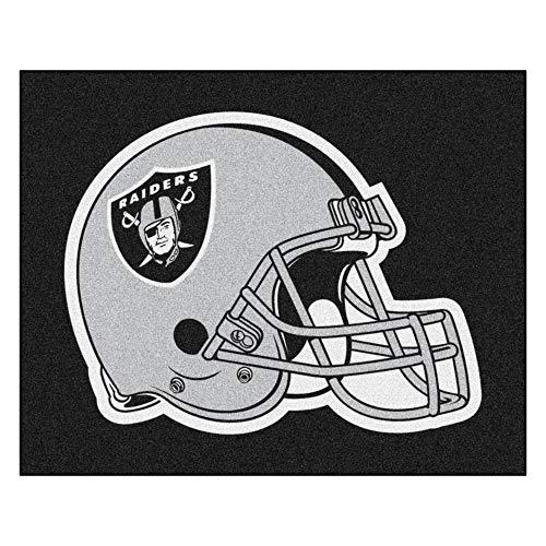 FANMATS 5939 NFL - Las Vegas Raiders Tailgater Mat 5 ft. x 6 ft., Team Color