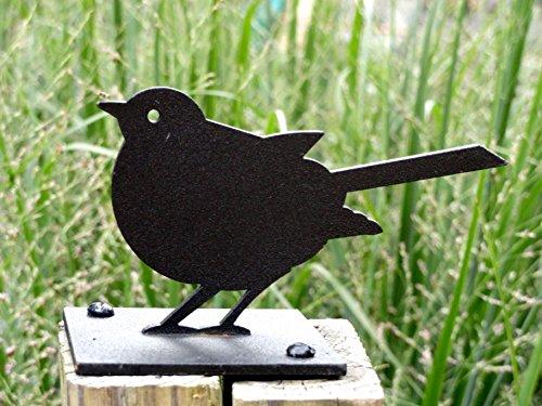 Nether Wallop Gartenvogel Rotkehlchen