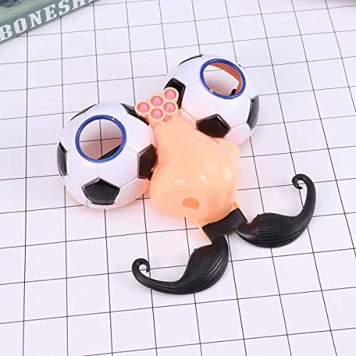 Soul hill 1pcs Disguise Gläser Tricky Requisiten Lustige Schnurrbart-Augenbrauen-Fälschungs-Nasen-Gläser for Maskerade Karneval-Kostüm-Party zcaqtajro