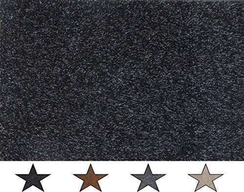 oKu-Tex Felpudo, algodón, Antracita, 60 x 120 x 0,5 cm