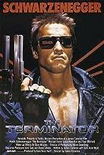Buyartforless The Terminator - Arnold Schwarzenegger with Gun 36x24 Movie Art Print Poster