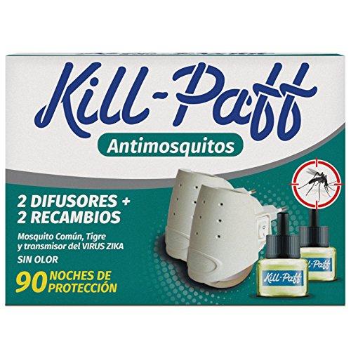 Kill Paff | Insecticida Eléctrico | Antimosquitos| Eficaz Contra Mosquito Tigre y...