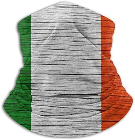 Ireland Wooden Texture Irish Flag Bandana Face Dust Mask for Women Men Half Headband Head Wrap product image