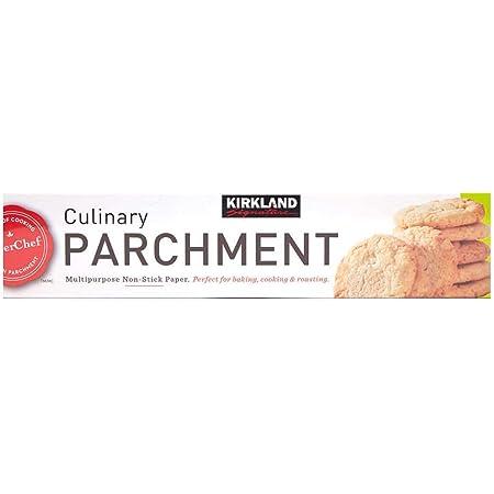 Kirkland Signature Parchment-1pk Non Stick Parchment, 1 Pack, Clear