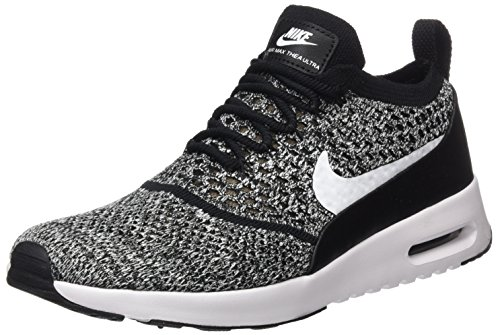 Nike Damen Air Max Thea Ultra Flyknit Sneaker, Schwarz (Black/White), 36 EU