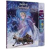 Disney Frozen 2 - Enchanted Journey - Sound Book and Interactive Flashlight Set - PI Kids (Play-A-Sound)