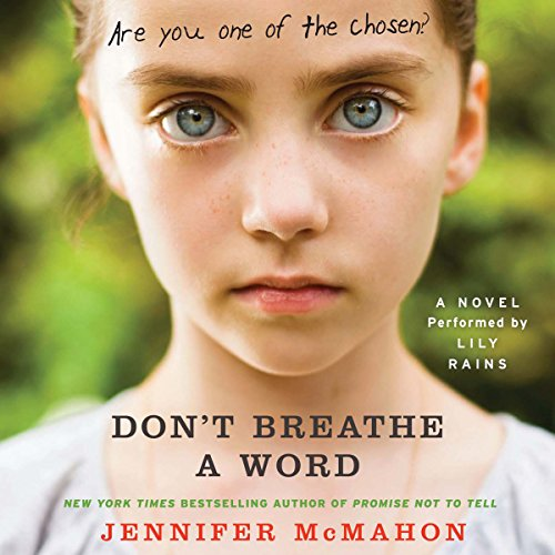 Don't Breathe a Word audiobook cover art