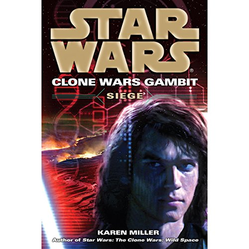 Star Wars: Clone Wars Gambit: Siege audiobook cover art