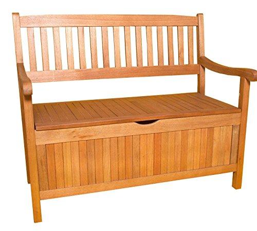 SEDEX Truhenbank Gartenbank Greena 3-Sitzer aus Eukalyptus