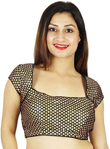 New Design Ready-made Beautiful TopFency BlouseCrop topCholi For SkirtParty wear Bollywood style Blouse B0619