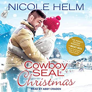 Cowboy SEAL Christmas     Navy SEAL Cowboys Series, Book 3              Written by:                                                                                                                                 Nicole Helm                               Narrated by:                                                                                                                                 Abby Craden                      Length: 9 hrs and 17 mins     Not rated yet     Overall 0.0