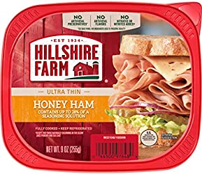 Hillshire Farm Ultra Thin Sliced Deli Meat, Honey Ham, 9 oz