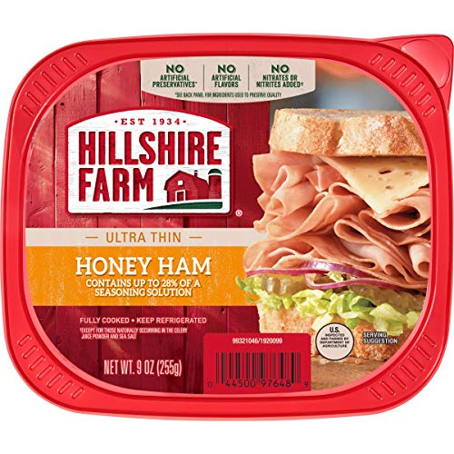 Hillshire Farm Ultra Thin Sliced Lunchmeat, Honey Ham, 9 oz.