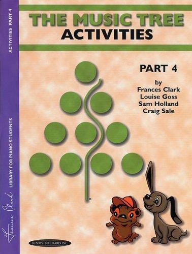 Alfred 00-00620 The Music Tree-Actividades Libro-Parte 4 - Music Book