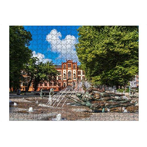 artboxONE Ravensburger-Puzzle L (500 Teile) Städte Universität in Rostock