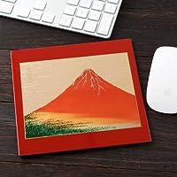 漆芸マウスパッド赤富士レッド