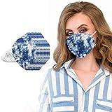 20/25/50/100 Piezas Adulto 4 Capas protección con Correas elásticas para los oídos ,Diseño 3D