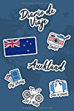 Diario de Viaje Auckland: Diario de Viaje   106 páginas, 15.24 cm x 22.86 cm   Para acompañarle durante su estancia.