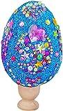 Huevos de Pascua Colorida Huevos Plásticos,Huevos de purpurina hechos a mano para niños, Huevos...