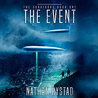 The Event audiobook cover art