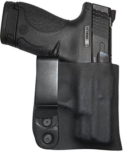 Pro Carry Kahr PM9 with Crimson Trace Laserguard Right Hand Security All Kydex Gun Holster Black